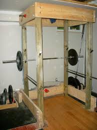 homemade power rack plans