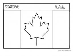 Small Picture Free Printable flag of canada coloring page for kids educational