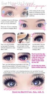 anime look makeup tutorial mugeek vidalondon