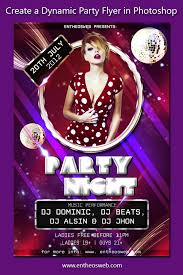 How To Create A Party Flyer Learn How To Create A Dynamic Party Flyer In Photoshop Entheos