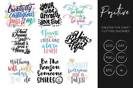 ✓ free for commercial use ✓ high quality images. Positive Inspirational Quotes Graphic By Illuztrate Creative Fabrica