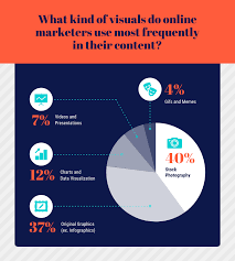 Visual Pie Chart Visual Content Pie Chart Template