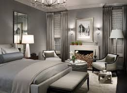 View In Gallery Picture Perfect Bedroom In Gray Combines Contemporary Style  With Understated Elegance