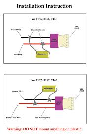 load resistor for fix of led hyper blinking warning 25ohm 25w (2) led turn signal resistor wiring diagram Led Resistor Wiring Diagram #26