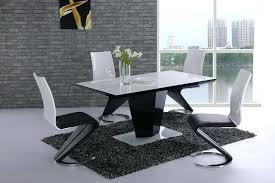 white dining room sets uk black high gloss white glass designer dining table white dining room