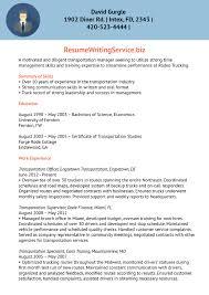Transportation Resume Examples Transport Facility Supervisor Resume Sample 11