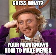 Image result for Mom knows everything meme