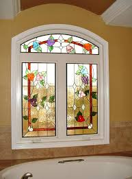 beautiful fl stained glass window