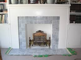 image of painting fireplace tile small