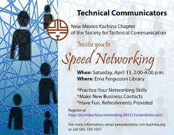 April 13 Event Speed Networking Stc New Mexico Kachina Chapter