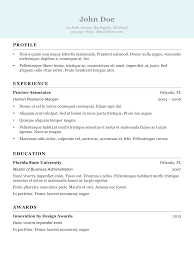 Find Resume Templates That Best Fits You Dadakan