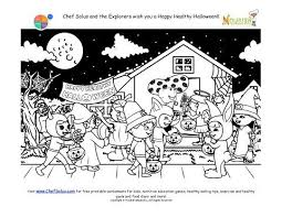 Small Picture 862 best 5 Halloween Coloring Pages images on Pinterest