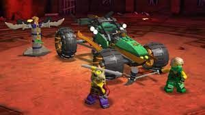 Lego ninjago - Game ninjago - ninjago thu thach vo duong - ninjago xanh la  chien dau - YouTube