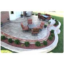 concrete stamped patio landscape around patio outdoor entertainment patios stamped concrete patios pros and cons