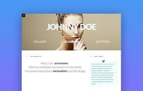 Best Resume Websites Website Template Free Cv Resume Personal