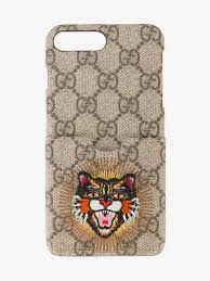 gucci 7 plus case. gucci angry cat iphone 6/7 plus case 7