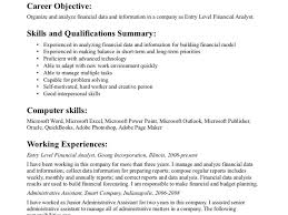 Download Objectives For A Resume