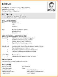 Sample Resume For Applying Job Lezincdc Com