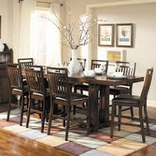 woodbridge home designs everett 9 piece counter height dining set dining table in kitchendining room