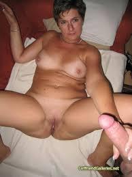 My mature gf nude