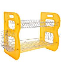 Kitchen Racks Stainless Steel Buy Home Creations Orange Stainless Steel Utensils Kitchen Rack