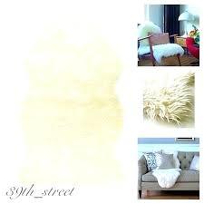 ikea faux sheepskin rug faux fur rug faux sheepskin rug armchair d soft cozy home decor