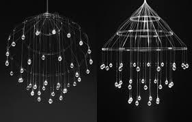 scintilla fibre optic chandelier by neues licht design