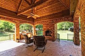 covered outdoor kitchens with fireplace. Fine With Covered Outdoor Kitchens  Kitchen With Fireplace Cool  Places Pinterest Outdoor Kitchens Patios And With