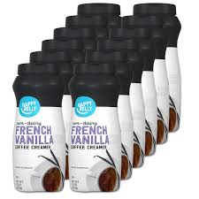 Watch yoga detox guru kim constable make non dairy almond milk coffee creamer in under 5 minutes.for a free 7 day detox simply visit. Amazon Brand Happy Belly Powdered Non Dairy French Vanilla Coffee Creamer 15 Ounce Pack Of 12 Amazon Com Grocery Gourmet Food