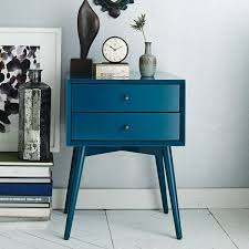 Antique Another Great Teal Color Midcentury Modernstyle Nightstand Pinterest Blue Furniture Design Ideas That Are Versatile For The Home
