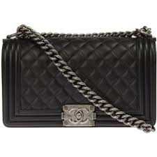 Chanel Boy Quilted Flap Bag Caviar Calfskin Leather (€4.310 ... & Chanel Boy Quilted Black Flap Bag ($3,995) ❤ liked on Polyvore featuring  bags, Adamdwight.com