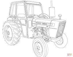 Coloriage Tracteur Ford 3600 Coloriages Imprimer Gratuits