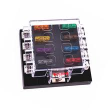 waterproof fuse box online shopping the world largest waterproof unviersal high quality waterproof 8 way circuit car fuse box 32v dc blade fuse holder car modification fuse holder