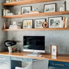 Small office ideas Design Inspiration For Small Transitional Builtin Desk Medium Tone Wood Floor And Brown Floor Houzz 75 Most Popular Small Home Office Design Ideas For 2019 Stylish