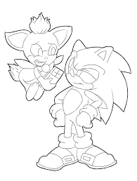 Sonic The Werehog Coloring Pages Printable Coloring For Kids 2019
