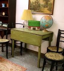 Drop Leaf Kitchen Table Chairs Best Drop Leaf Kitchen Tables For Small Spaces Regarding Retro