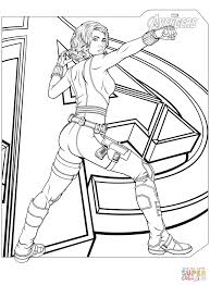 Coloring Pages Marvels The Avengers Coloring Pages Free Black