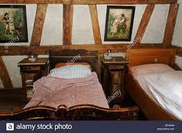 Betten Im Schlafzimmer Die Diener Historische Bäckerei Aus Dem Jahr