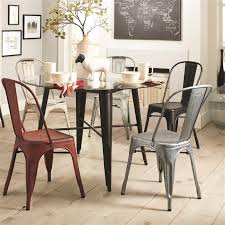 bellevue 5 piece round dining table set in antique rustic finish by coaster 105610