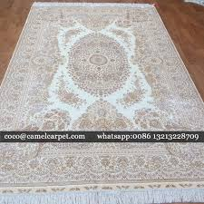 carpet for sale. 6x9ft-183x274cm pure silk hand knotted carpet for sale whatsapp\u0026viber:008613213228709 coco@camelcarpet p