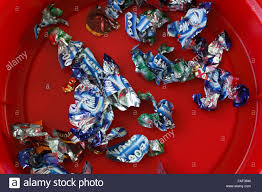 Chocolates Wrappers Chocolate Wrappers Stock Photos Chocolate Wrappers Stock