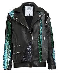 high end sparkling coats