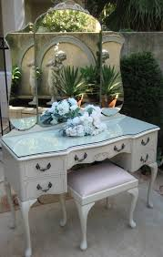 High Quality FRENCH Provincial Bedroom DRESSING TABLE Queen ANNE Vintage