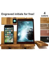 Amazing Deal on Docking station wood Charging station organizer