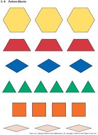 Pattern Blocks Gorgeous C48 Pattern Blocks