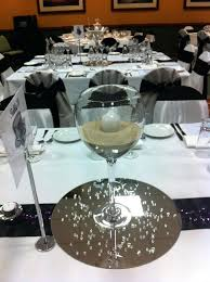 huge wine glasses floating candle centerpiece ideas with wine glasses oversized wine glass centerpiece ideas