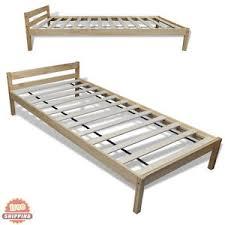 Platform Bed Image Is Loading Woodensinglebedsolidwoodbedframeincluding Ebay Wooden Single Bed Solid Wood Bed Frame Including Slatted Frame