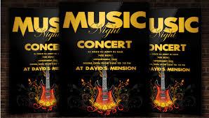 Concert Flyer Templates Free 36 Concert Flyer Templates Creatives Psd Vector Eps Jpg