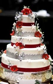 beautiful white and red wedding cakes. Plain And RedWhiteWeddingCakes_02 Throughout Beautiful White And Red Wedding Cakes R