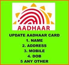 Image result for aadhaar update